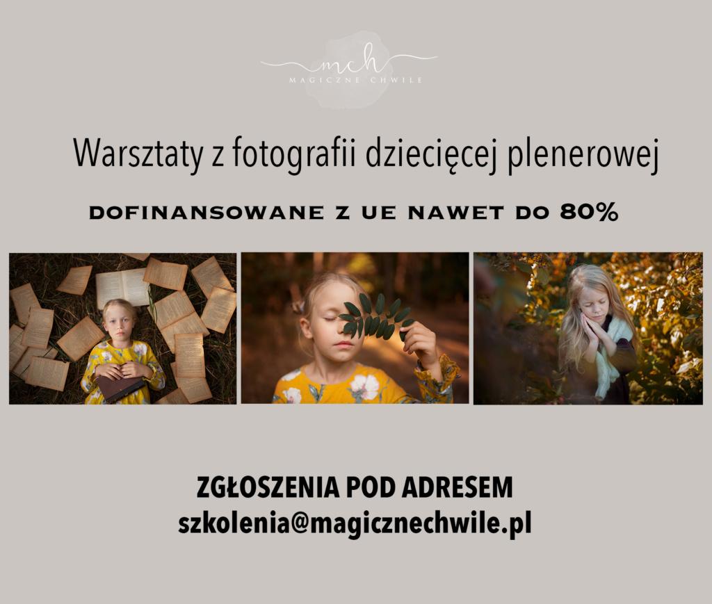 Szkolenia fotograficzne dofinansowane z UE